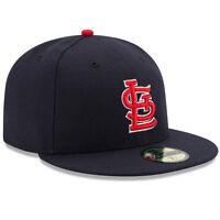 New Era 5950 ST. LOUIS CARDINALS Alternate 1 Navy Cap MLB Baseball Fitted Saint