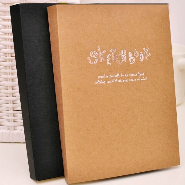"""""""Take Easy"""" 1pc Study Diary Notebook Sketchbook Blank Papers Exercise Notepad"""