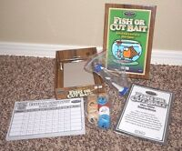 Fish Or Cut Bait Dice Fishing Family Game