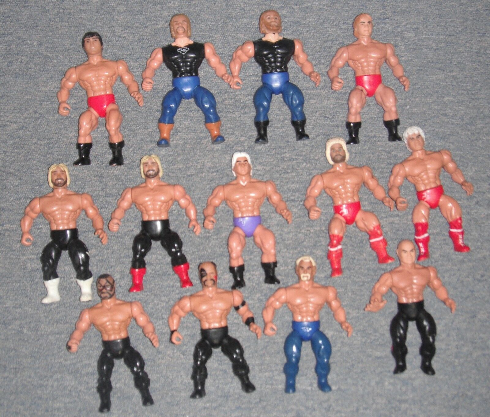 AWA American Wrestling Association Remco Figures Vintage Lot of 13