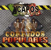 Los Capos De Mexico - Corridos Populares [new Cd] on Sale