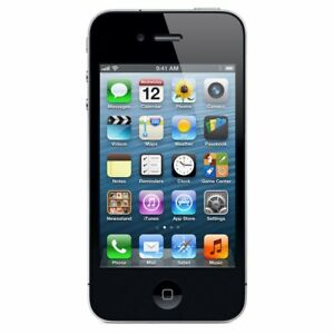 Apple-iPhone-4-8GB-Black-AT-amp-T-Cricket-Straight-Talk-H20-A1332-GSM
