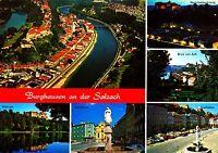 Burghausen an der Salzach , Ansichtskarte ;  gelaufen