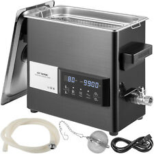 Vevor 6l Ultrasonic Cleaner Touch Cleaning Equipment Industry With Timer Amp Heater
