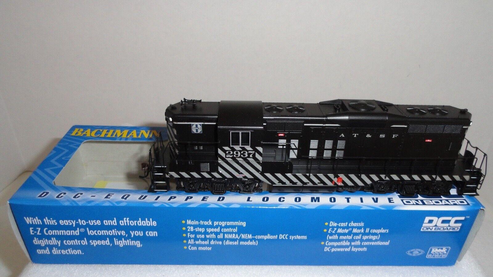 Bachmann HO 62809 EMD GP9 Dynamic Brakes w DCC ATSF NB