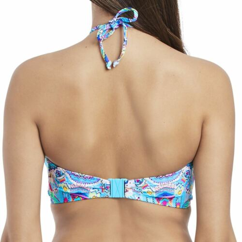 Freya New Native Strapless Bikini Top 3531 Underwired Bandeau Womens Swimwear