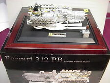 FERRARI METAL 312 PB V-12 ENGINE & TRANSMISSION  HUGE 1/6 W/SOUND GMP UNBELIEVAB