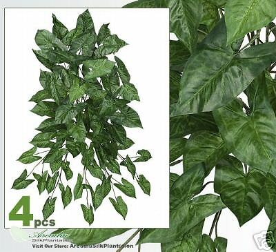 "FOUR29/"" ArrowHead Hanging Bush Artificial Silk Plant 67"