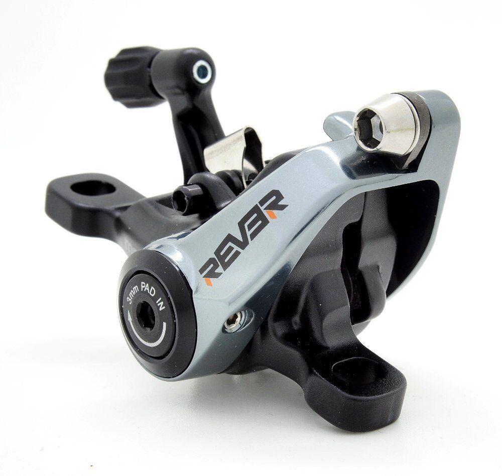 Freno de Disco Mecánico Rever MCX1 conjunto con rojoor de 160 mm, 1 Juego Para 1 rueda