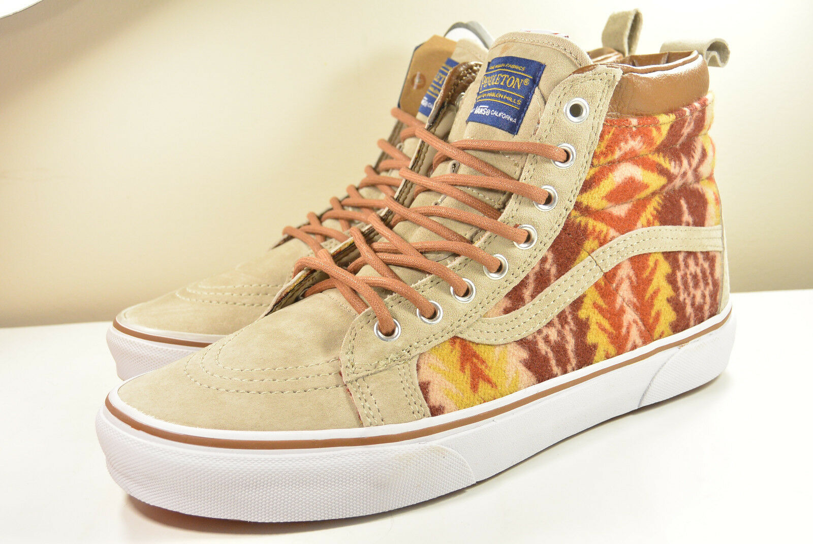 DS 2015 VANS PENDLETON MTE (MOUNTAIN EDITION) TRIBAL TAN HI 9 - 12 OFF THE WALL