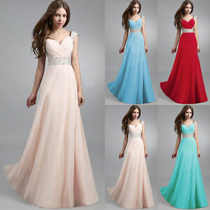 Long Formal Evening Prom Party Dress Bridesmaid Dresses Ball Gown Cocktail Dress