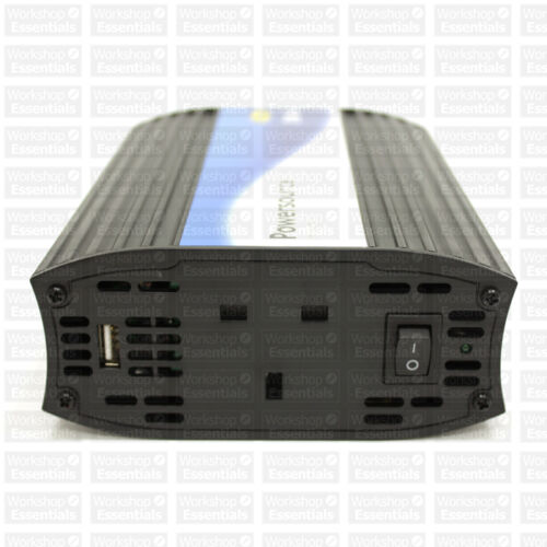 Ring Automotive 12v 500w Compact Inverter with 2A USB RINVU500