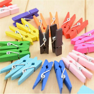 50pcs-Mini-Natural-Wooden-Clothes-Photo-Paper-Peg-Clothespin-Craft-Clips
