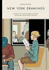 New York Drawings by Adrian Tomine (2012, Hardcover)