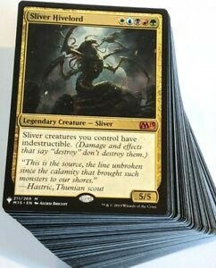 ***Custom Commander Deck*** Sliver Hivelord EDH Mtg Magic Cards