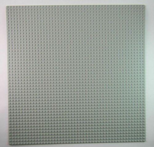 LEGO LARGE 48 X 48 DOT 15 X 15 INCH LIGHT BLUISH GREY BASEPLATE PLATFORM