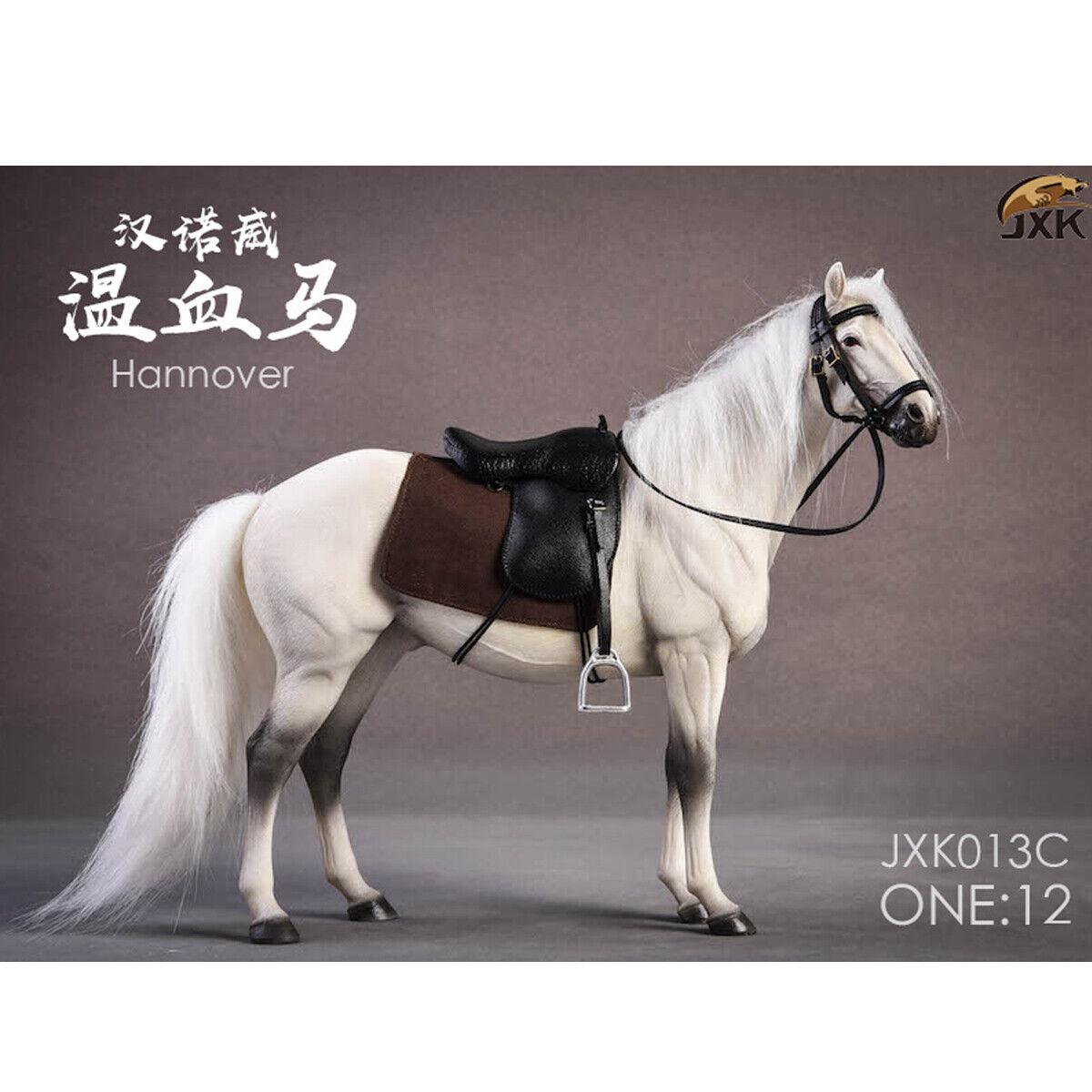 JXK Studio JXK013C 1 12 Scale Germany Hannover Animal Hanoverian Horse Model