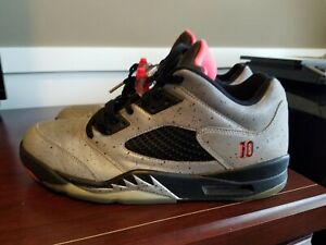 buy cheap sale skate shoes Details about Air Jordan 5 Retro Low Neymar - Reflect Silver - 846315-025 -  Men's Size 10.5