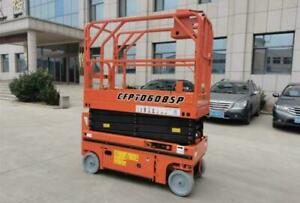 HOC SCISSOR LIFT 230 KG + 25 FEET WORKING HEIGHT + 1 YEAR WARRANTY + FREE SHIPPING Canada Preview