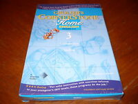 Grolier's Cornerstone Home English Grades 3-4 Volume 3 PC/Mac CD-ROM New 1998