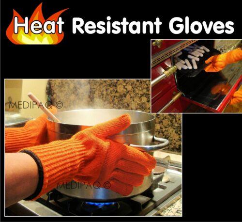Medipaq ™ long poignet chaleur preuve Gants Four-protection Moufles chaud pots de cuisine