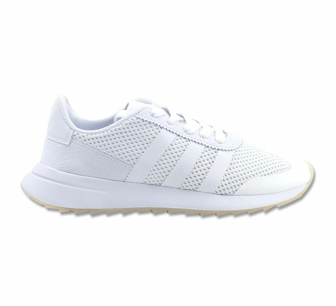 Adidas Schuhe Sneaker FLB W S80612 Weiß Flashback Running WEISS Damen Gr. 44