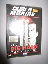 DVD DURI A MORIRE DIE HARD TRAPPOLA DI CRISTALLO WILLIS FABBRI EDITORI
