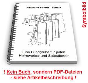 Faltwand selbst bauen - Falttür Lamellen Befestigung Führung Technik ...