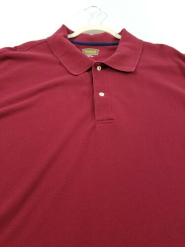 Foundry Men's Polo Shirt 3XLT Tall Red Casual Pop… - image 1
