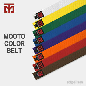 MOOTO Color Belt White / Yellow / Green / Blue / Brown / Orange / Purple / Red