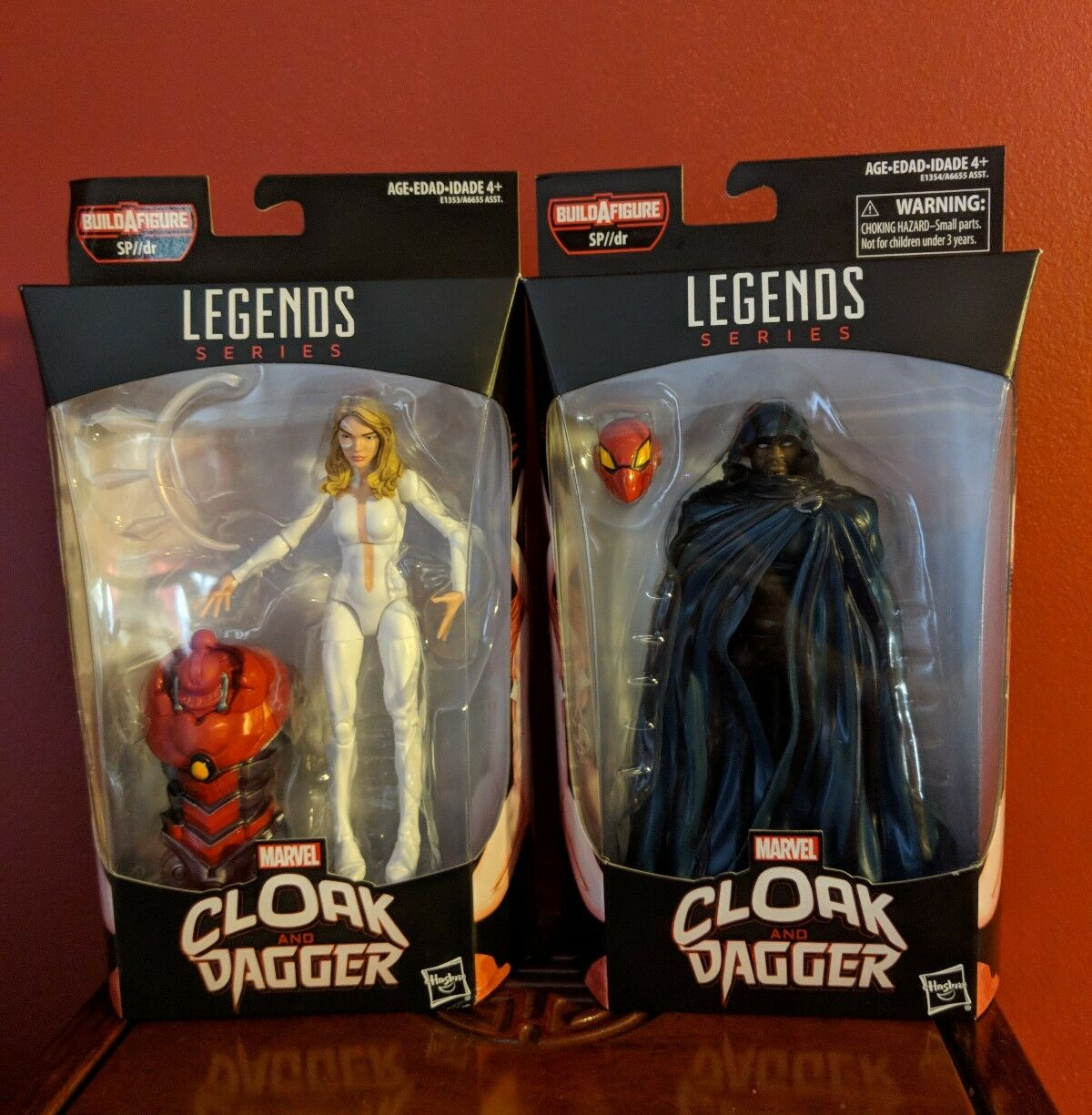 Marvel Legends Spider- Man Wave SP  DR Baf Set Cloak Dagger