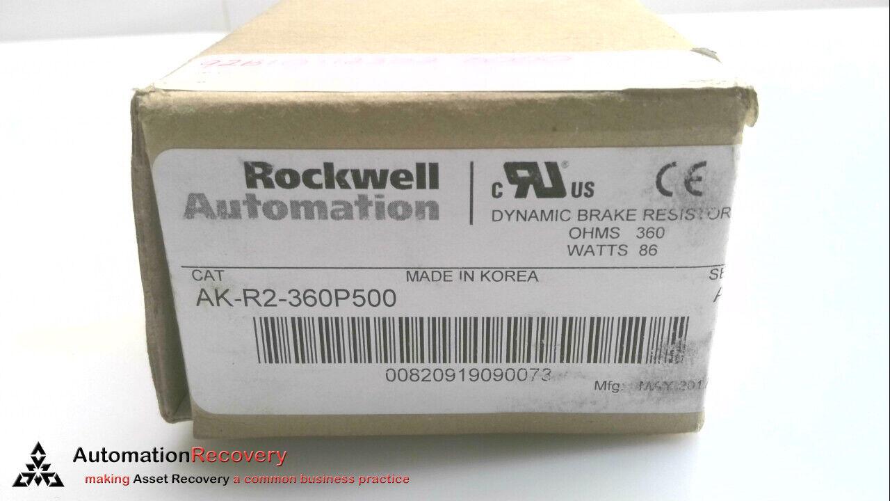 ROCKWELL AUTOMATION AK-R2-360P500 SERIES A  DYNAMIC BRAKE RESISTOR NEW #133708