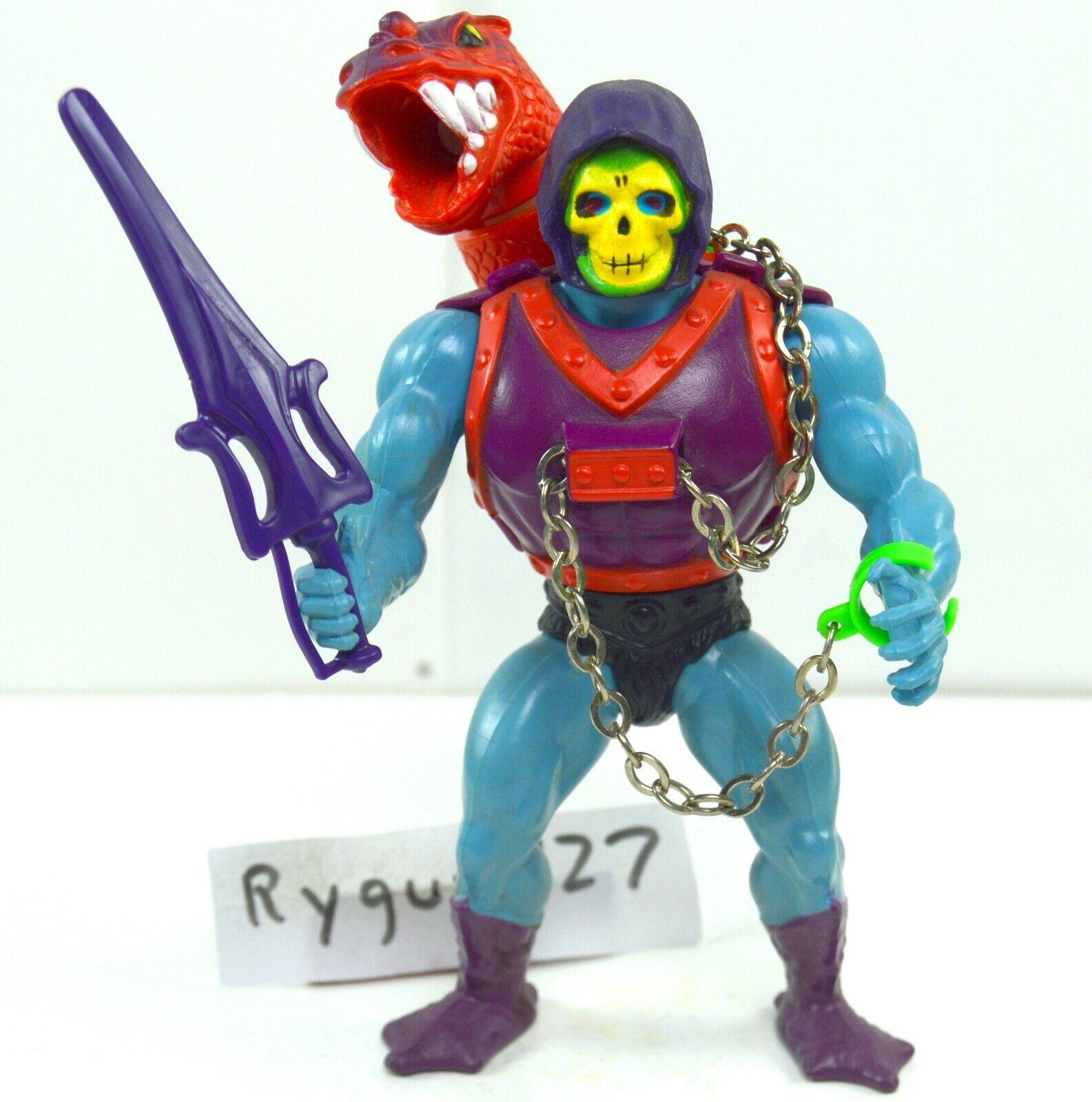 MOTU, Dragon Blaster Skeletor, Master of the Universe, Figur, komplett, Lock