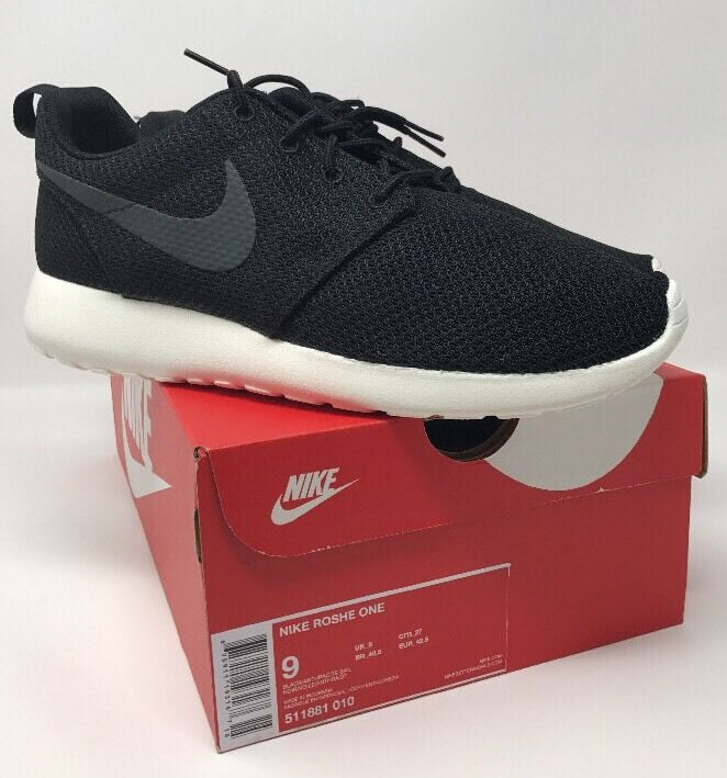 Nike Roshe One Size 9 Sail Black/ Anthracite- Sail 9 4f6645