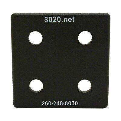 80//20 Inc 10 Series Blue ABS Plastic End Cap w//Fasteners for 1030 #2026-BLU N