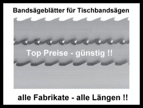 Atika BS 205-3 Stück Bandsägeblatt 1400x10x0,65mm Sägeband Hartholz Kunststoff