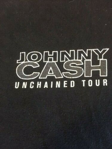 Johnny Cash unchained rare vintage t shirt 1994 co