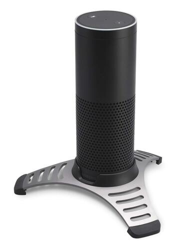 SoundXtra Home & Office Worktop Desk Stand Holder for Amazon Echo Alexa - Black