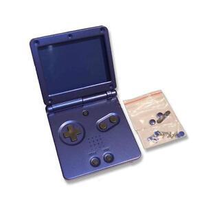 GameBoy-Game-Boy-Advance-GBA-SP-Azure-Blue-Replacement-Shell-Housing-w-Tools-UK