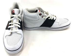 b67429ebe93e36 Puma Shoes El Ace 2 Mid Perforated White Black Sneakers Size 10