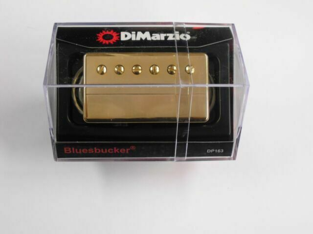 DIMARZIO Bluesbucker Neck DP163 Gold Cover