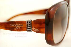 Sinnvoll Brandneu Swarovski Sonnenbrille Sk 0012 52f Havanna Für Damen 100% Original Kunden Zuerst Damen-accessoires Sonnenbrillen & Zubehör