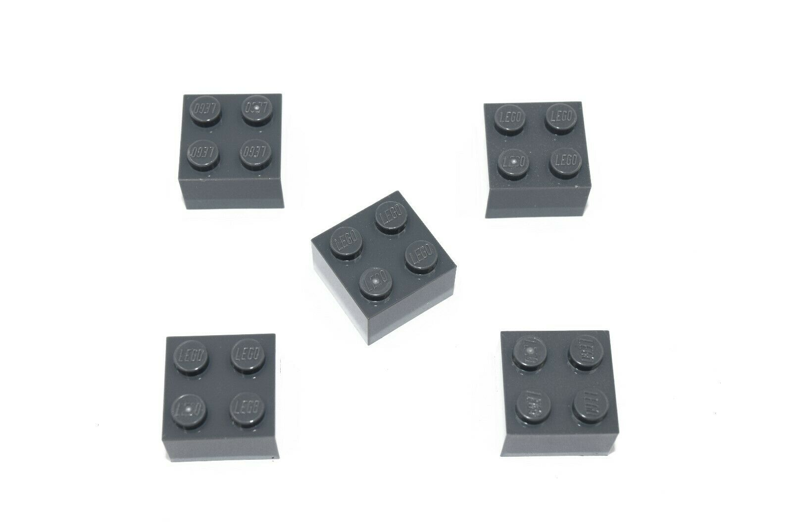 Lego 20 x Stein 2x2 rot 3003 Basic Basis Grundbausteine