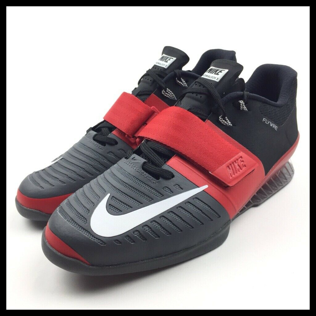 Nike Romaleos 3 Mens Weightlifting shoes Size 12.5 12.5 12.5 Black Red 852933-600 New d7ee5f