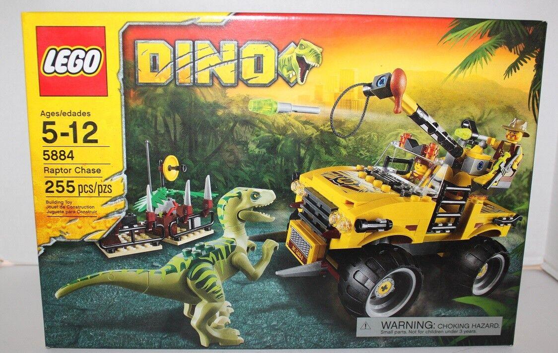 LEGO DINO RAPTOR CHASE  5884 255 PIECES CONSTRUCTION SET 2012 RETIROT MIB