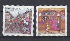 Lussemburgo /Luxembourg 2004 centenario dell'unione commerciale e mercatino  MNH
