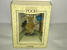 """Vintage Classic Winnie the Pooh Gund Polyester Miniature Jointed Plush 3"""""""