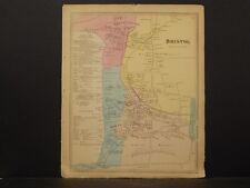 Connecticut Hartford County Map 1869, Bristol !O4#60