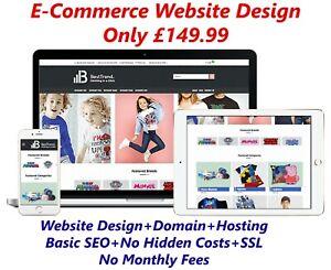 Website-Design-Email-Domain-amp-Hosting-Included-WordPress-E-commerce-Web-Design