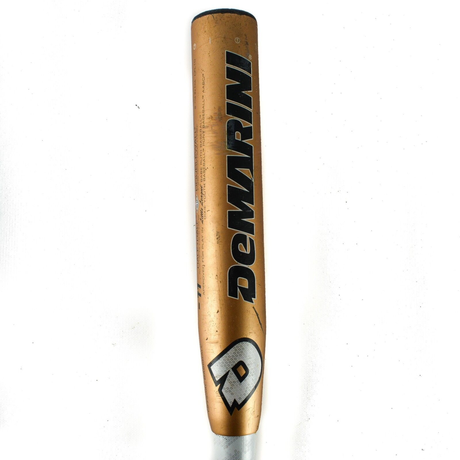 Demarini CF4 Negro Compuesto Fastpitch bate de béisbol 30  3.5 -11 Doble Parojo